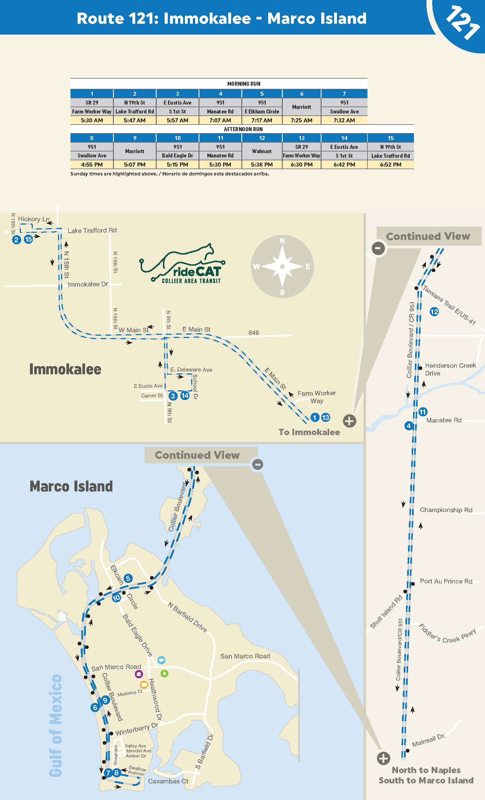 Immokalee to Marco Island Express