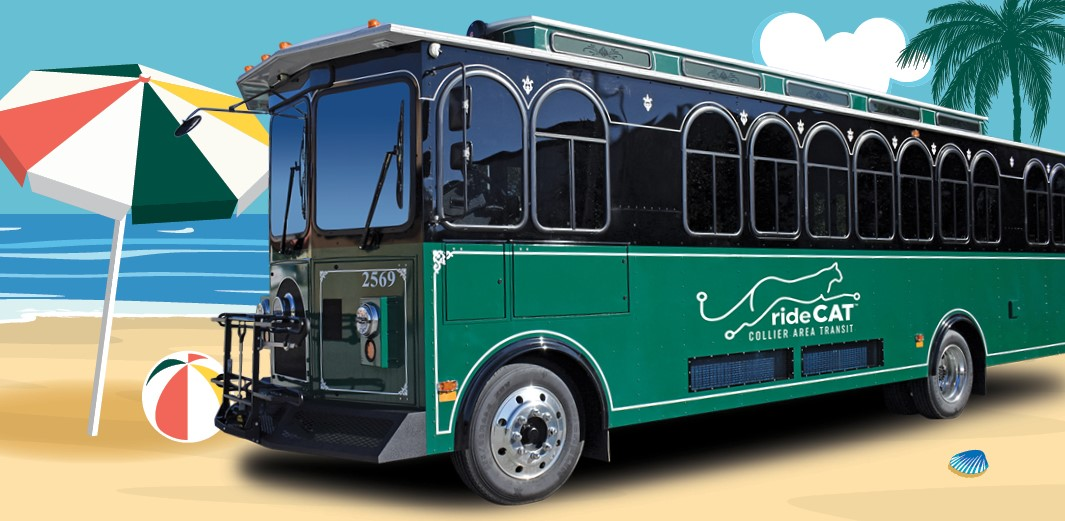 CAT's Beach Bus Trolley is Running for Season